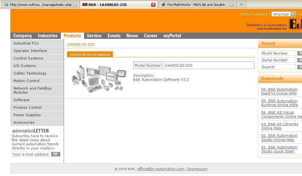 Developer's web page