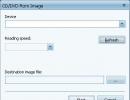 CD to ISO image creator