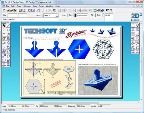 2d Design Software Informer Screenshots