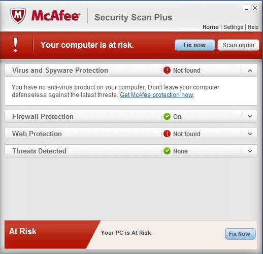 security scan plus 2 1 alert window screenshots for mcafee security ...