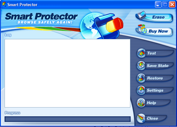 Smart Protector main window