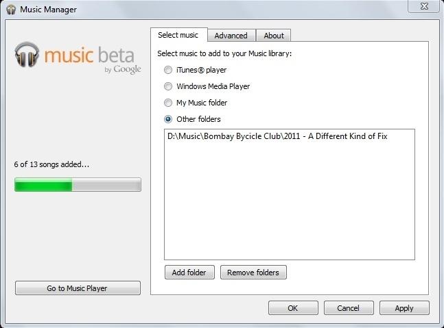 Uploading Music