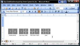Gridvista screen configurations