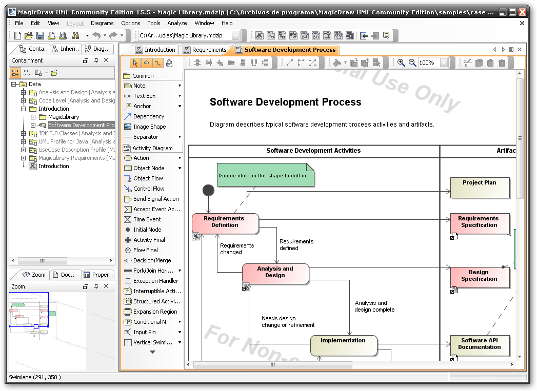 MagicDraw UML Software Informer: Screenshots