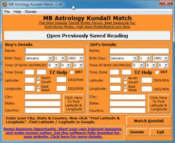 Match Making Kundli Software In Hindi Free Download