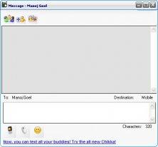 Message Sending Window