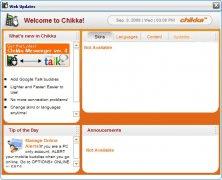 Inbuilt Web Update Window to update Chikka