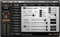 Guitar FX-Distortion example
