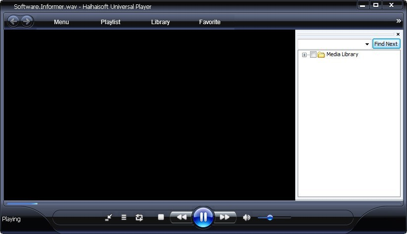 Playing Audio File