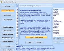 Registry Backup Creation Tool
