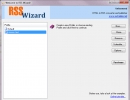 New RSS wizard