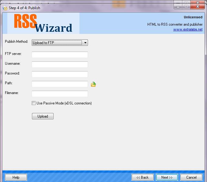 Integrated uploader