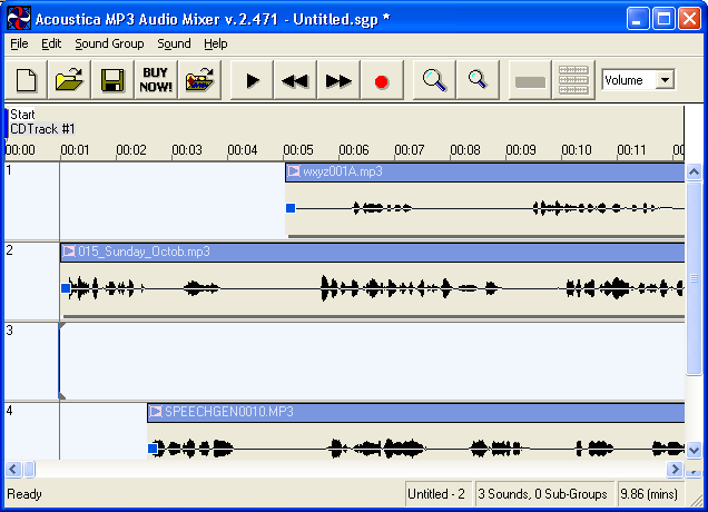 Adding Audio Files