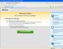 Internet Explorer with 1 Defender