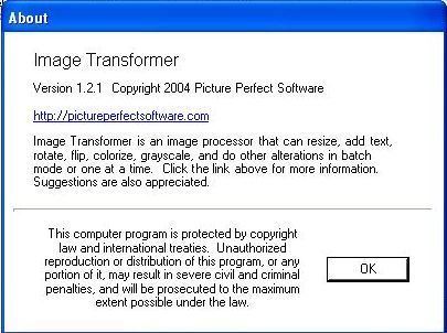 About Image Transformer