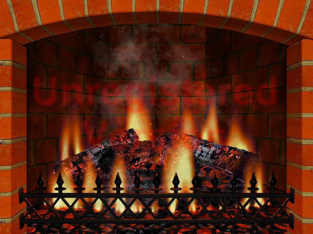 3d fireplace screensaver wallpaper