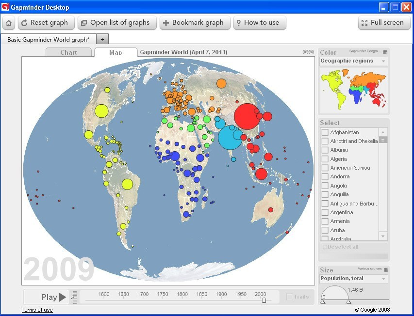 Map window