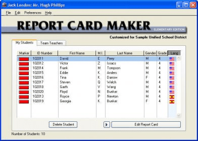 Report Card Maker Download Free Version (RCM.exe)