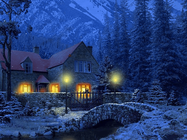 3d winter scenes wallpaper - photo #38