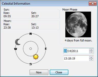 Celestial Information