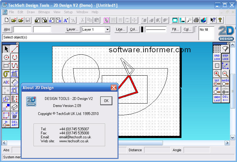 Design 2d software year 7x electronics techsoft 2d design for 2d architecture software free