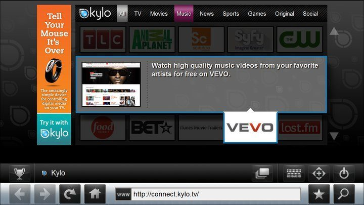 Web Browser for TV