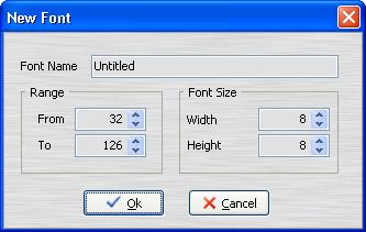 New font Window