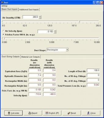 ashrae duct fitting database version 5.0 free download