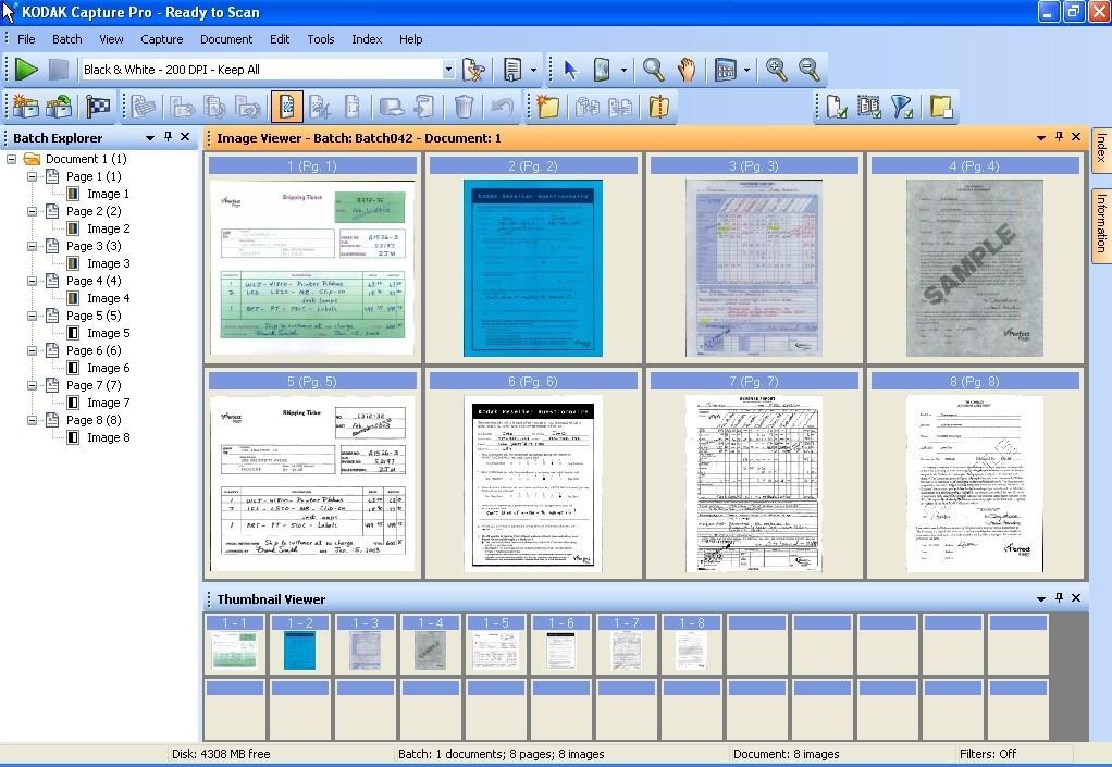 Kodak Capture Pro Software Software Informer Screenshots