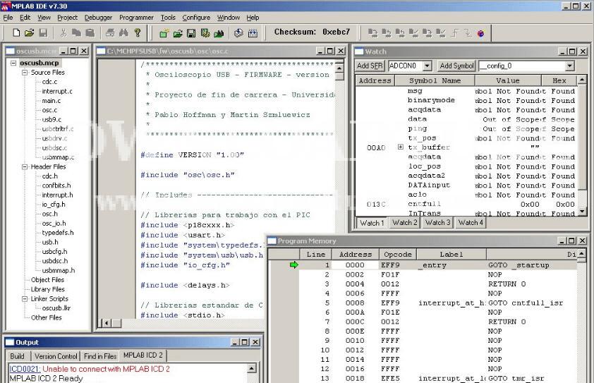 mplab ide software informer screenshots
