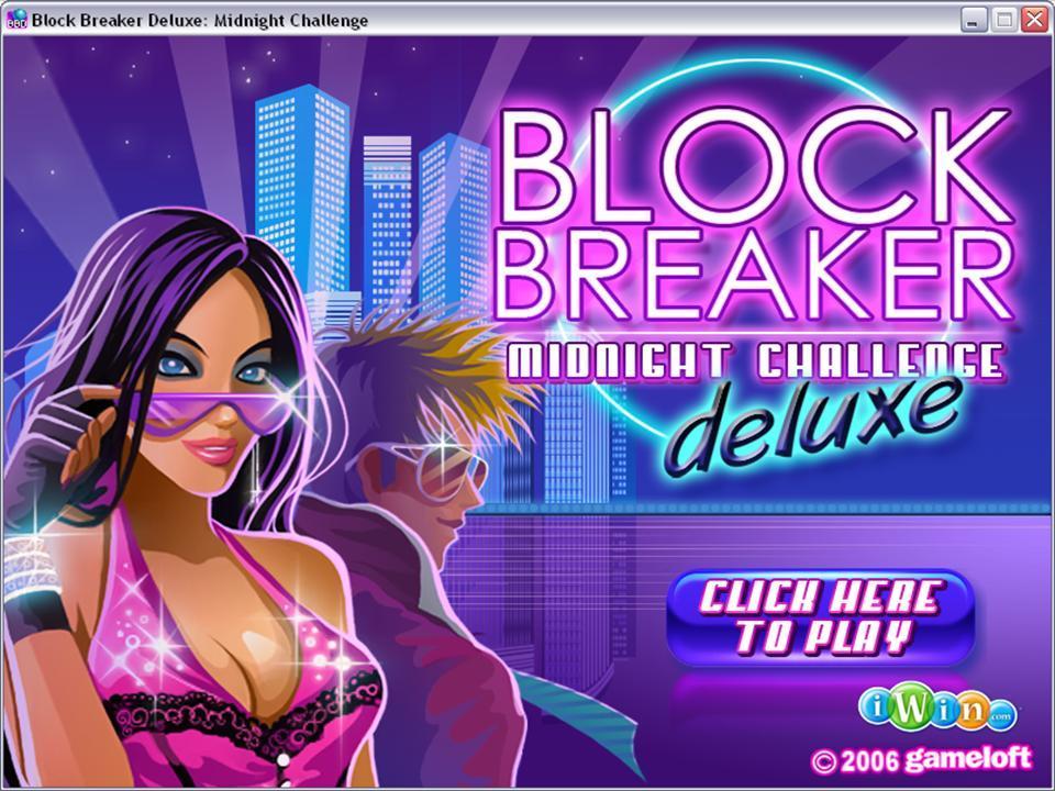 Block Breaker Deluxe Game Free Download For 128X160