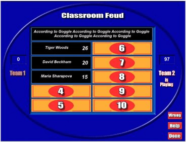 6 Free Family Feud PowerPoint Templates for Teachers