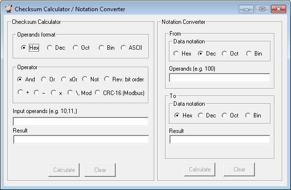 Checksum Calculator
