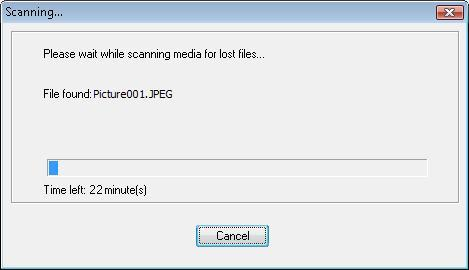 Recovering files.