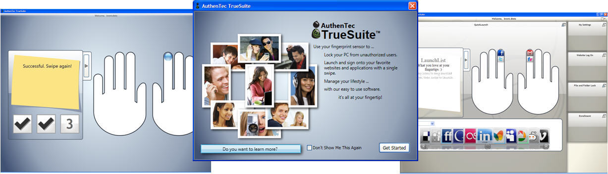 authentec truesuite download