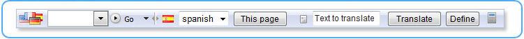 TranslatorBar 1 Toolbar