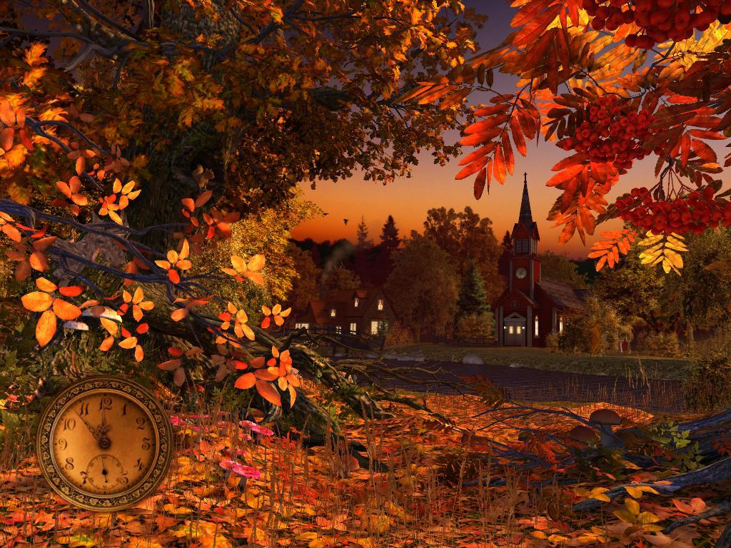 Falling Autumn Leaves Screensaver for Windows - Screensavers Planet