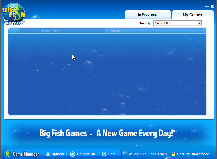 Game manager big fish games mac for Big fish game manager download