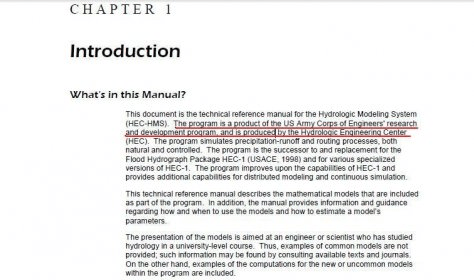 hec hms technical reference manual