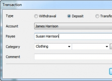 Adding New Transaction