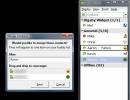 Merged Contacts + Main Window