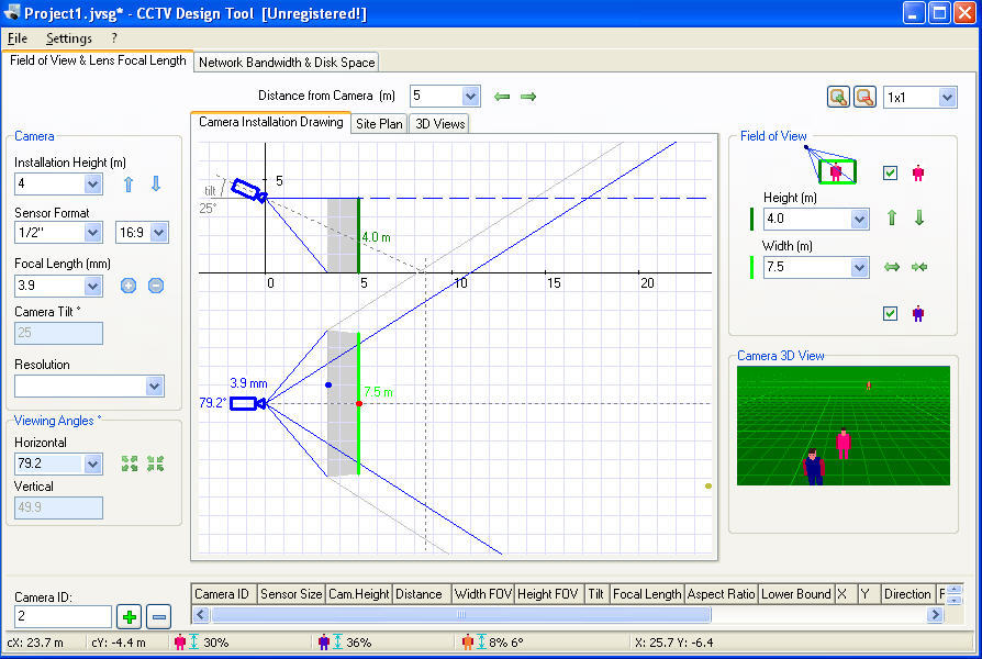 Cctv design tool software informer screenshots for Cctv layout software