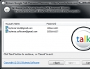Bytexis Google Talk Password Recovery - Recovered Passwords