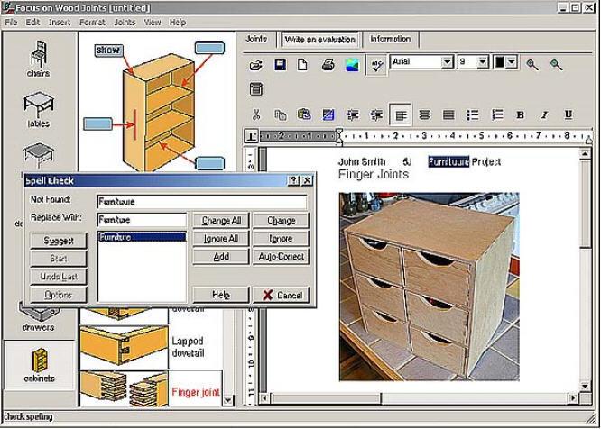 Focus on wood joints Software Informer: Screenshots