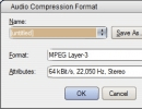 Audio Compression Settings