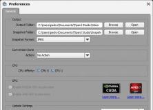 Preferences Screen