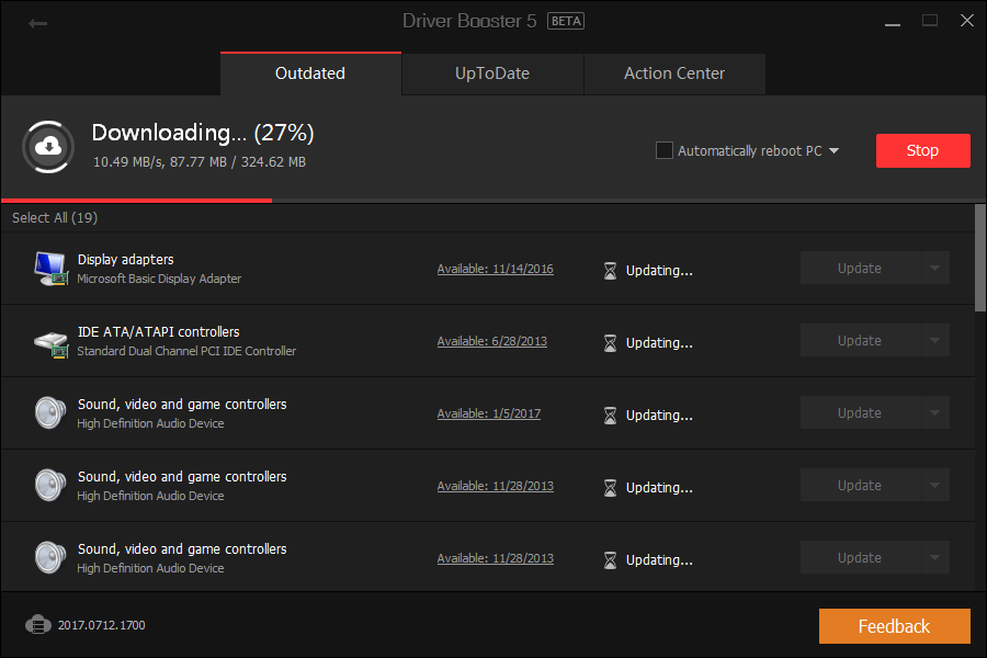 Driver Downloading