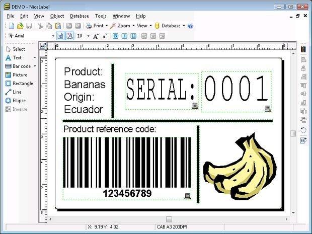 Label creating
