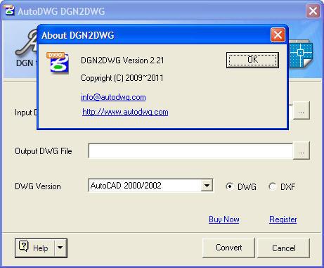 autodwg dgn 2 dwg registration code