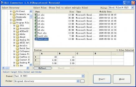 Shs To Xls File Converter - ramsoftsoftguru